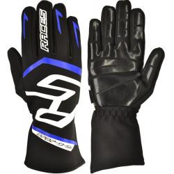 Rukavice RACES Premium EVO II Silicone Blue