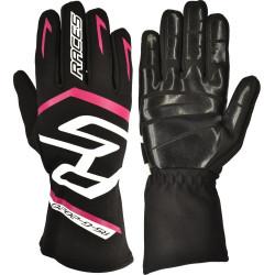 Rukavice RACES Premium EVO II Silicone Pink