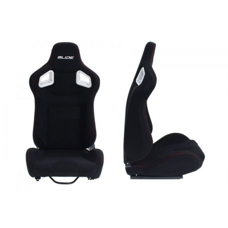 Športové sedačky Bez FIA homologizácie polohovateľné Športová sedačka SLIDE textil | race-shop.sk