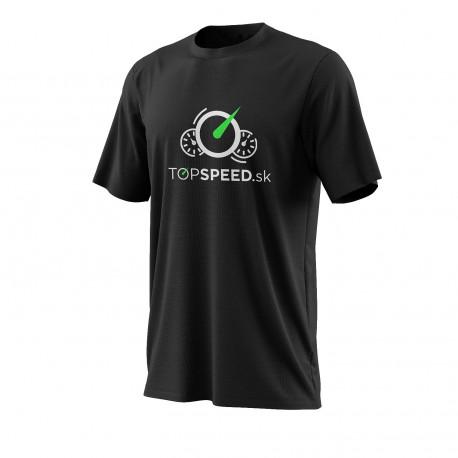 Tričká Tričko TOPSPEED čierne   race-shop.sk