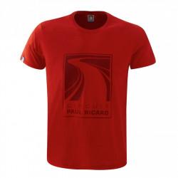 Tričko Circuit Paul Ricard (T-Shirt) - pánske - červené