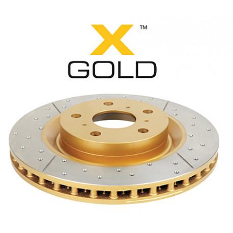 brzdové kotúče DBA zadné brzdové kotúče DBA Street Series - X-GOLD | race-shop.sk