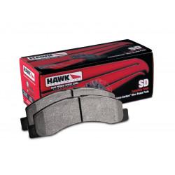 Predné brzdové dosky Hawk HB633P.790, Street performance, min-max 37°C-400°C