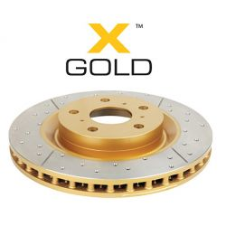 predné brzdové kotúče DBA Street Series - X-GOLD