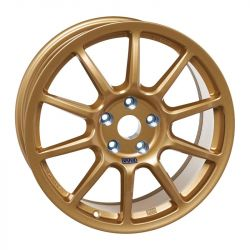 "Závodný disk BRAID Fullrace A 8X18"" GOLD"