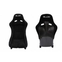 Športová sedačka SLIDE RS Carbon Black M