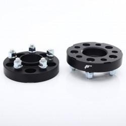 Sada 2ks rozširovacích podložiek JAPAN RACING (so štiftami) - 15mm, 5x114.3, 67,1mm