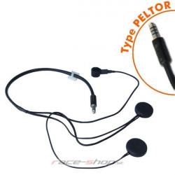Terratrip headset pre centrály professional PLUS do uzavretej prilby
