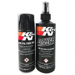 Sada na čistenie a ošetrovanie športových vzduchových filtrov K&N