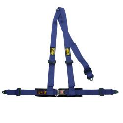 3 bodové bezpečnostné pásy OMP, modré