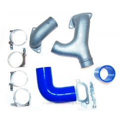"""Pevná """"Y"""" medzi turbo a intercooler pre Subaru Impreza WRX/Sti 2001-07"""