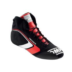 FIA topánky OMP TECNICA black/red