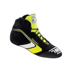 FIA topánky OMP TECNICA black/fluo yellow