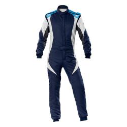 FIA Kombinéza OMP First-EVO modro-biela