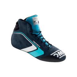 FIA topánky OMP TECNICA blue/cyan