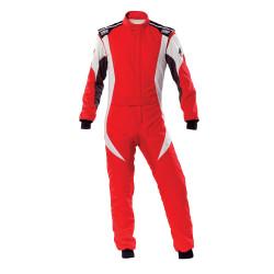 FIA Kombinéza OMP First-EVO červeno-biela