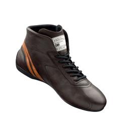 FIA topánky OMP CARRERA dark brown