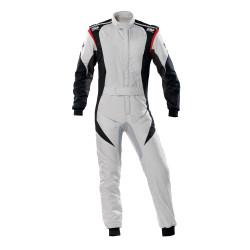 FIA Kombinéza OMP First-EVO sivo-čierna