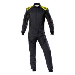 FIA Kombinéza OMP First-EVO čierno-žltá