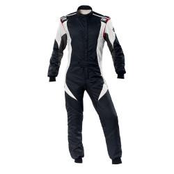FIA Kombinéza OMP First-EVO čierno-biela