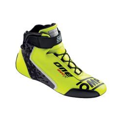 FIA topánky OMP ONE EVO X flue yellow