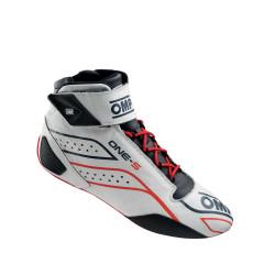 FIA topánky OMP ONE-S white