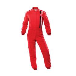 FIA Kombinéza OMP CLASSIC červená