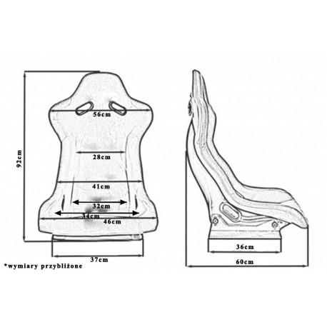 Športové sedačky Bez FIA homologizácie Športová sedačka EVO Bride style | race-shop.sk