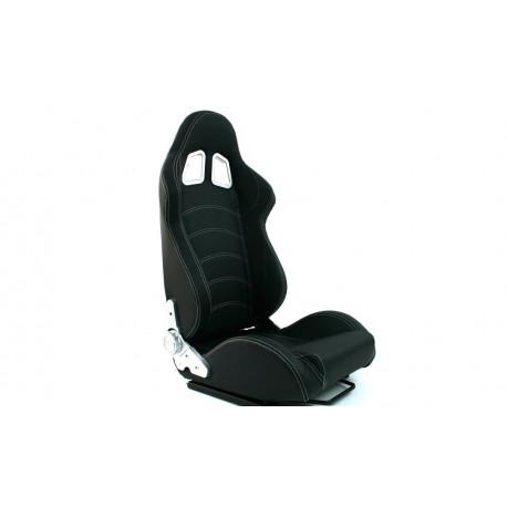 Športové sedačky Bez FIA homologizácie polohovateľné Športová sedačka MONZA BLAST CARBON čierna | race-shop.sk