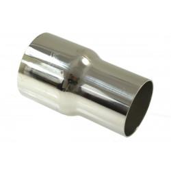 Nerezová výfuková redukcia 51-57 mm