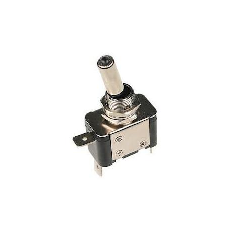 Štartovacie tlačítka a vypínače Páčkový prepínač (letecký) s LED 12V 25A | race-shop.sk