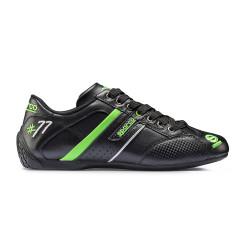 Topánky Sparco TIME 77 čierná/zelená