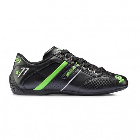 Topánky Topánky Sparco TIME 77 čierná/zelená | race-shop.sk