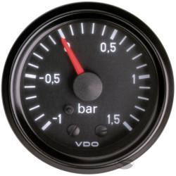 Budík VDO tlak turba mechanický (-1 až 2 BAR) - cocpit vision séria