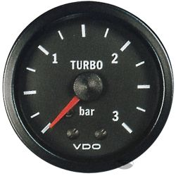 Budík VDO tlak turba mechanický (0-3 BAR) - cocpit vision séria