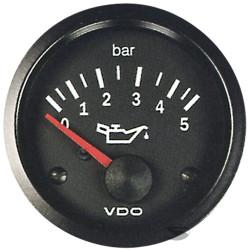 Budík VDO tlak oleja (0-5 BAR) - cockpit vision séria