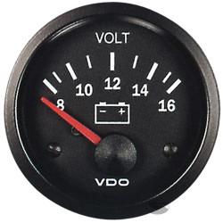 Budík VDO dobíjanie (voltmeter) - cocpit vision séria