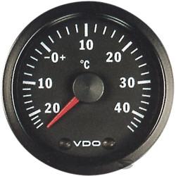 Budík VDO ukazovateľ vonkajšej teploty - cockpit vision séria