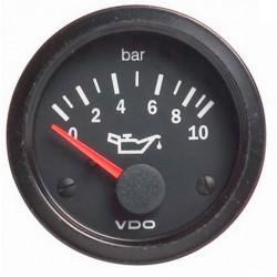 Budík VDO tlak oleja (0-10 BAR) - cockpit vision séria