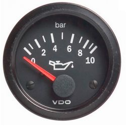 Budík VDO tlak oleja (0-10 BAR) - cocpit vision séria