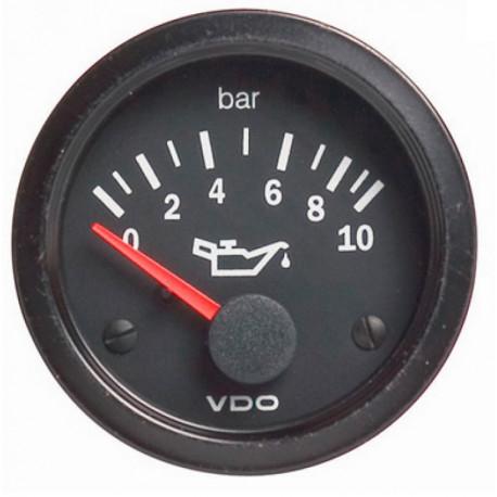 Budíky VDO Cockpit Vision Budík VDO tlak oleja (0-10 BAR) - cockpit vision séria | race-shop.sk