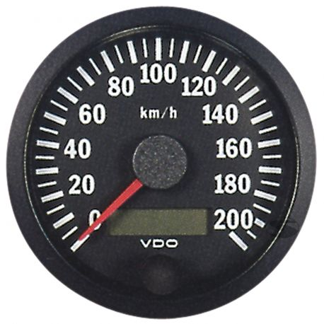 Budíky VDO Cockpit Vision Budík VDO rýchlomer 80mm 0-200km/h - cockpit vision séria   race-shop.sk
