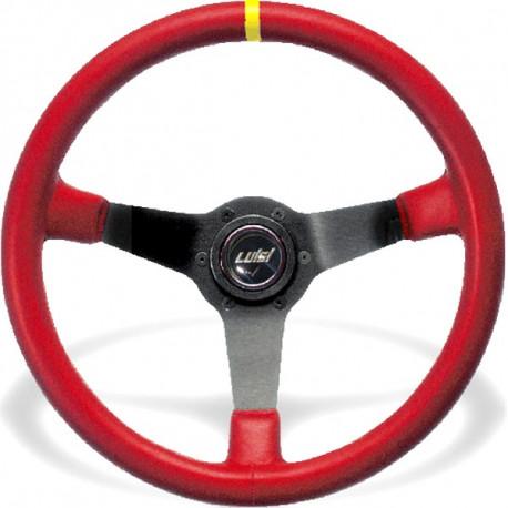 Volanty Športový volant Luisi Mirage Corsa, 350mm, koža, 75mm odsadenie | race-shop.sk