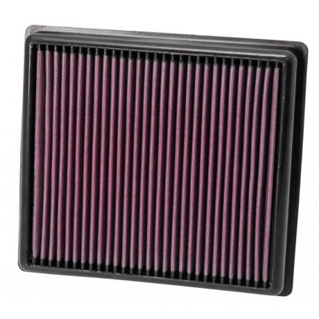 Vložky do pôvodných airboxov Športový vzduchový filter K&N 33-2990 | race-shop.sk