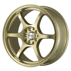 Japan Racing JR1, 17x7 ET40 4x100/114 Gold