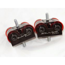 Polyuretánové uloženie motora Silver Project pre BMW E30 M20 a M21