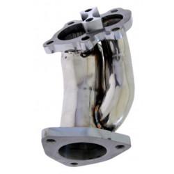 Dump pipe (turbo elbow) na Nissan 200SX S14, SR2DET, delená