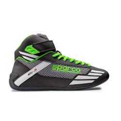 Topánky Sparco Mercury KB-3 čierno-zelená
