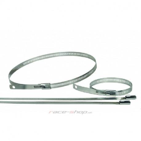 Izolačné pásky na výfuk Nerezová sťahovacia páska Thermotec na termo pásky, 6ks, dĺžka 460mm | race-shop.sk