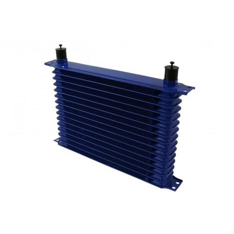 Univerzálne olejové chladiče 15 radový olejový chladič Trust style AN10, 330x125x50mm | race-shop.sk